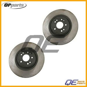 Front Disc Brake Rotor Set Of 2 Opparts Mercedes Ml430 Ml500 Ml55 Amg