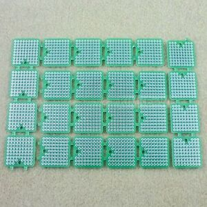 24 X 1 Square Prototype Circuit Board Kit Pcb Proto