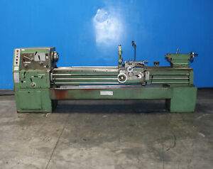 18 25 Swing X 80 Center Afm Andychow Engine Lathe Metal Turning Machine