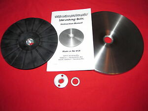 9 Shrinking Disc Kit W Backing Pad Friction System English Wheel Shrinker