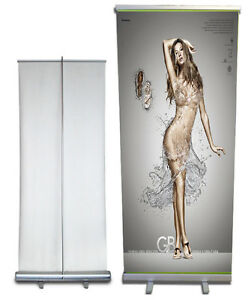 Retractable Roll Up Banner Stand