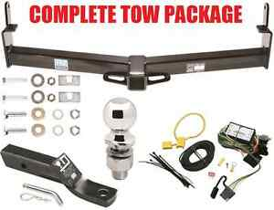 95 00 Ford Explorer Tow Package Trailer Hitch Wiring Kit Ballmount Ball