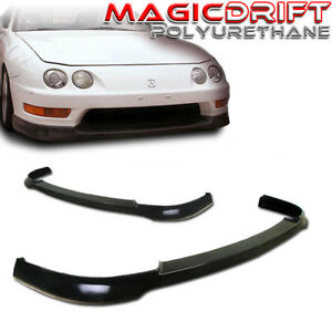 For 98 01 Acura Integra Dc2 Itr Jdm Tr Style Front Bumper Chin Lip Urethane