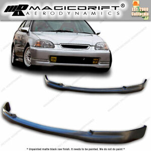 For 96 98 Honda Civic Ek Ek9 Ctr Japan Tr Jdm Front Pu Lip Urethane Body Kit