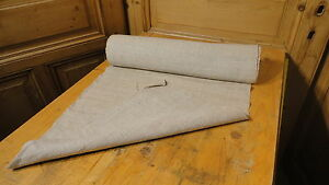 Homespun Linen Hemp Flax Yardage 9 Yards X 21 Plain 2807