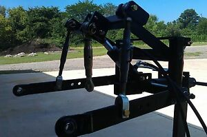 Farmboy Sport Hydraulic 3 point Hitch For Kubota Rtv Bad Boy Buggies Xd