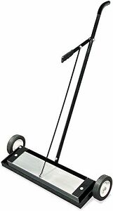 Heavy Duty Magnetic Roller Sweeper Magnet Pick Up Tool 400 Lbs Capacity