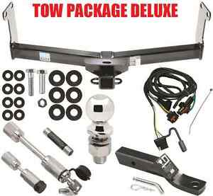 Trailer Hitch Wiring Kit Ballmount Ball Security Locks Tow Receiver