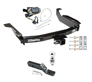 Trailer Tow Hitch For 98 03 Dodge Durango Complete Package W Wiring And 2 Ball