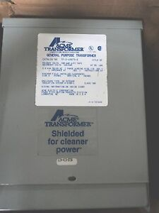 Acme Transformer Distribution Transformer 3kva tf 2 49873 s
