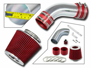 Short Ram Cold Air Intake Kit Red For 02 05 Audi A4 A6 3 0 Sfi V6 Full Set