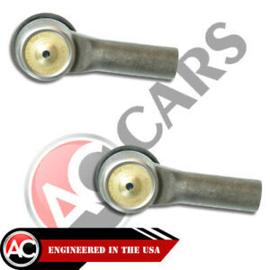 2 Outer Tie Rod Ends Ford Escape Mazda Tribute Mercury Mariner High Quality