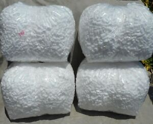 14 Cu Ft White Popcorn Anit Static Packing Peanuts Free Ship New White