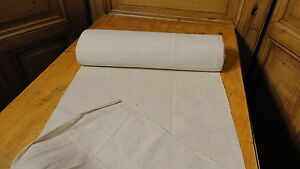 Homespun Linen Hemp Flax Yardage 12 Yards X 20 Plain 3117