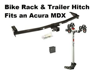 Trailer Hitch Rola 2 Bike Carrier Rack Combo For 2001 2006 Acura Mdx Class 3