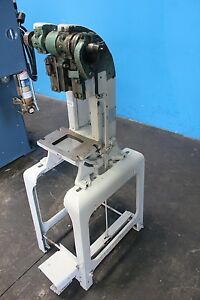 5 Ton Benchmaster Obi Punch Press Parts And Stand Model 152