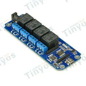 4 Channel Usb wireless Relay Module tosr04 xbee Bluetooth And Wifi Extension