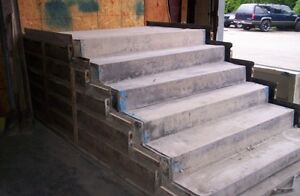 Steel Pre cast Forms For Making Concrete Steps