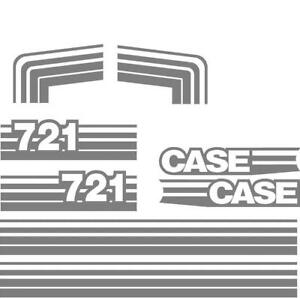Decal Set For Case Wheel Loader 721