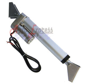 Heavy Duty 6 Linear Actuator With Brackets Stroke 225 Pound Max Lift 12 Volt Dc
