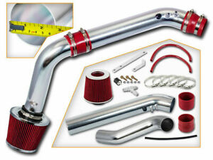 2 75 Red Cold Air Intake Induction Kit Filter For 99 00 Civic Hx ex si 1 6l