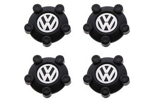 Vw Volkswagen Center Caps Set For Steel Wheels 5n0601169xrw Genuine Oem New