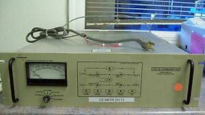 Comwave Communication Microwave Model Sb010a 10 Watt Transmitter