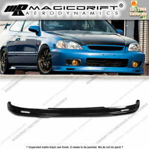 99 00 Honda Civic 2dr Body Kit Jdm Front Rear Pu Lip Urethane