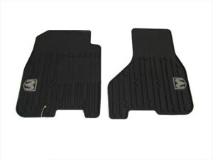 09 12 Dodge Ram 1500 11 12 Ram 2500 3500 Front All Weather Rubber Floor Mats