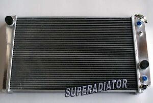 2 Row Aluminum Radiator For 1984 1990 Chevrolet Corvette C4 Small Block V8 5 7l