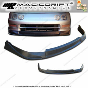 For 94 97 Acura Integra Dc2 Pu Front Bumper Lip Spoiler Kit Poly Urethane Pu