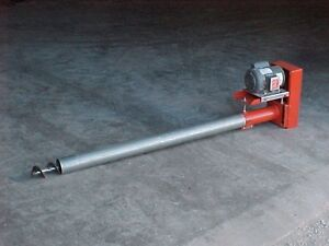 Eight Inch Bulk Tank Auger 22 Long Screw Conveyor