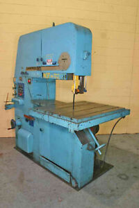 36 Throat Tannewitz Metal Cutting Vertical Bandsaw Mdl3600mh 7 5hp