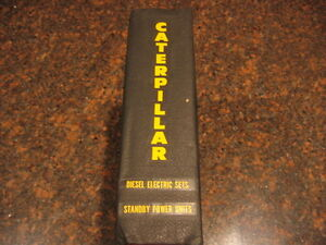 Cat Caterpillar Diesel Electric Set Standby Generator Shop Repair Service Manual