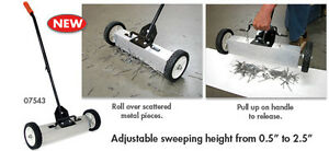 Heavy Duty Magnetic Sweeper Pick up Tool 97 Lbs Pull Magnetic Sweeper