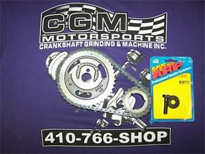 Sbf Double Roller Progear Ford 302 351w Timing Chain Set Arp Cam Bolt 154 1001