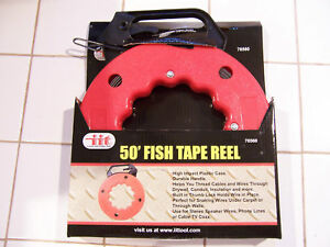 50 Fish Tape Reel_the Cable Puller