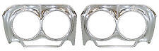 1962 Chevy Impala Belair Headlight Bezel Pair New 62 Chevrolet