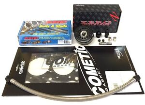Zerg Vtec Full Conversion Kit 81mm Gasket Arp 208 4303 Ls Vtec Gsr B18 B16