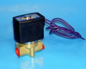 1 4 Electric Solenoid Valve 24 Volt Dc Normally Closed Operation