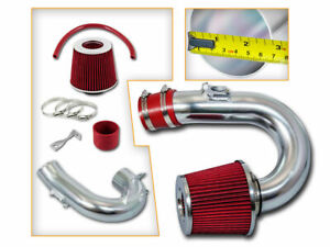 Short Ram Air Intake Kit Red Filter For 00 05 Toyota Celica Gt 1 8l