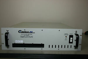 Comtech Pst Ar8829 5 Amplifier 5 Watt 800mhz 2ghz Calibrated With Warranty