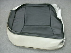 Saab 9 5 Black Leather Right Rear Seat Bottom Cover