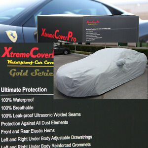 1991 1992 1993 1994 1995 Acura Legend Waterproof Car Cover W Mirrorpocket Grey