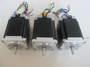 Cnc Kit 3axis 82mm 290oz in Nema23 Stepper Motor Stepping Motor For Cnc Router