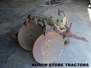 Ih Farmall 1 Point Hitch Double Disc Turning Plow 140 130 Super A 100