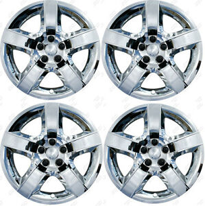 17 Chrome Bolt on Wheel Covers Hubcaps Fits Pontiac G6 Chevy Malibu