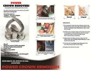 Implant Crown Remover Set Of 2 item Imcr