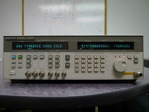 Hp Agilent 83732b Synthesized Signal Generator w Opt 1e1 1e5