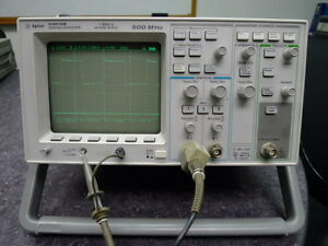 Hp Agilent 54615b Digital Oscilloscope 500mhz